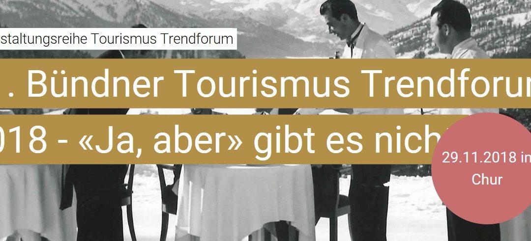 11. Bündner Tourismus Trendforum / HTW Chur / 29.11.2018